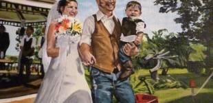 Micah's Wedding Portrait