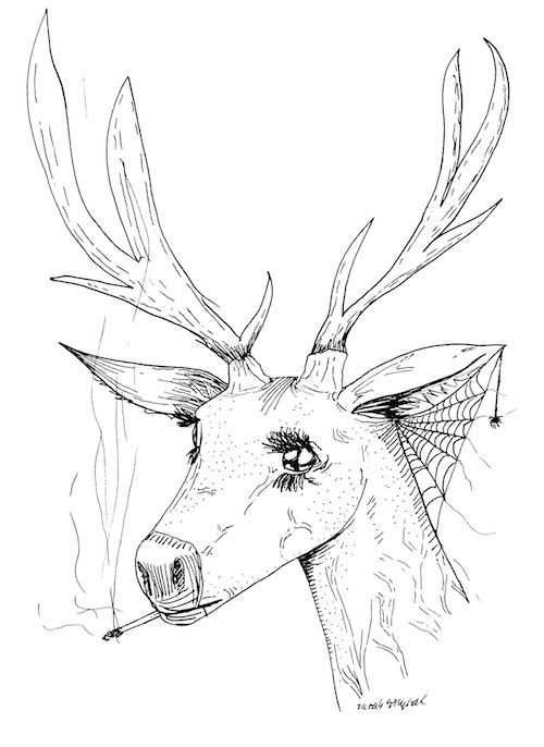 surrealism coloring pages | Surreal Woman Coloring Pages