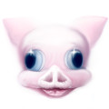 pop surrealism pink pig digital painting by artist sarah stupak